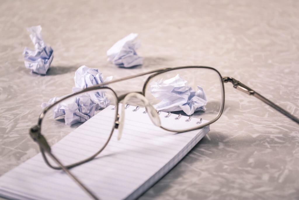 Veel uitzoekwerk met bril